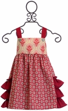 Persnickety Olivia Jumper Candy Cane in Red (12-18Mos,18-24Mos,8)