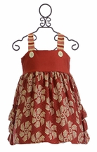Persnickety Olivia Jumper in Red (3-6Mos,18-24Mos,2T,3T)
