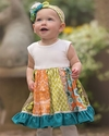 Persnickety Penelope Dress for Girls Sweet Pea