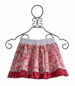 Persnickety Pink Reversible Skirt for Girls - 2, 8 & 10