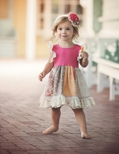 Persnickety Pocket Full of Posies Penelope Dress