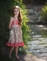 Persnickety Pocket Full of Posies Tavia Dress PREORDER
