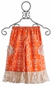 Persnickety Pocket Gaucho in Orange and Lace