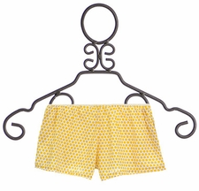 Persnickety Polka Dot Shorts Breeze Yellow