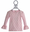 Persnickety Pretty in Pink Ruffle Tee