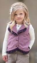 Persnickety Purple Alice Vest (6 & 7)