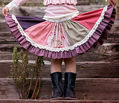 Persnickety Pretty In Pink Paige Skirt 18 Mos 5 8
