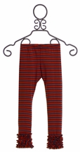 Persnickety Red Stripe Legging Gracie (3/6Mos, 6,7)