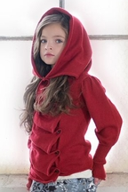 Persnickety Red Sweater Eden