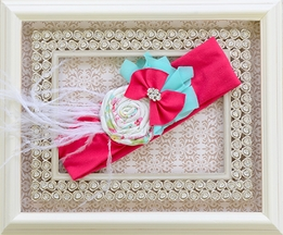 Persnickety Ren Soft Headband for Little Girls (Size LG 6-12)
