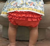 Persnickety Ruffle Diaper Cover for Babies Sweet Pea