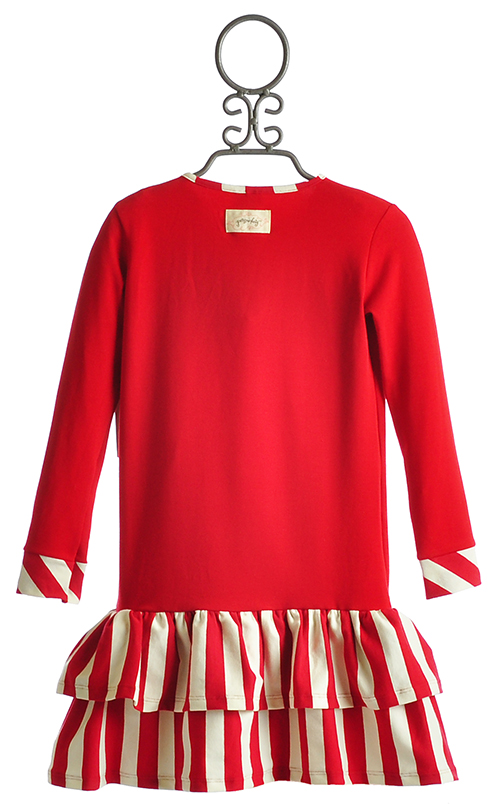 Home > Persnickety Samantha Red Girls Holiday Dress without Black Sash
