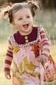 Persnickety Sara Tunic for Girls in Pink (4 &  6)