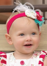 Persnickety Soft Headband for Babies Ren Daffodils and Dandelions