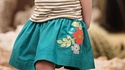 Persnickety Sweet Pea Brooke Skirt for Girls