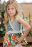 Persnickety Sweet Pea Nina Top for Little Girls