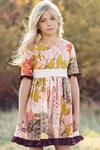 Persnickety Tea Party Dress in Pink