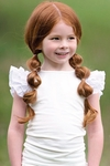 Persnickety White Everly Top for Girls