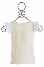 Persnickety White Everly Top for Girls (12Mos,18Mos,4)