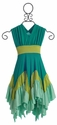 Pixie Girl Windy Day Dress Turquoise