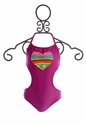 Planet Sea Girls One-Piece Bathing Suit with Side Cutouts