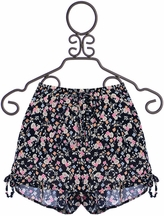 PPLA Floral Shorts in Navy