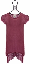 PPLA Hansel Hi Low Tunic in Rose