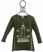 PPLA Hi Low Top for Tweens Love My Tribe