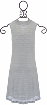 PPLA Light Gray Dress for Tweens