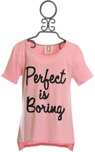 PPLA Perfect is Boring Shirt (Size SM7/8)