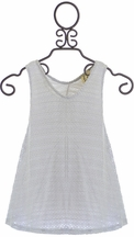 PPLA Tank Top in Light Gray