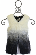 PPLA Unique Fur Vest for Tweens
