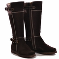 Primigi Suede Zipper Flat Riding Boots for Girls