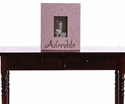 Purple Wooden Picture Frame - Adorable Message Frame