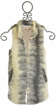 Ragdoll & Rockets Long Fur Vest for Tweens