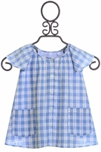 Rockin Baby Blue Gingham Blouse