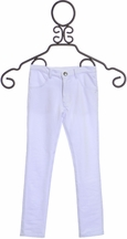 Rockin Baby White Skinny Pants for Girls