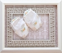 Romantique Bebe Baby Crib Shoes in Ivory