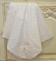 Romantique Bebe Ivory Baby Girls Blanket