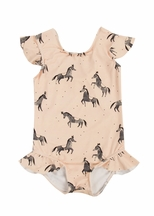 Rylee and Cru Circus Horses One Piece