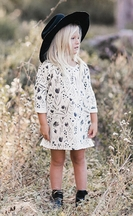Rylee and Cru Dress for Girls with Flowers
