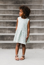 Rylee and Cru Floral Button Back Dress