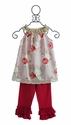 Sado Spring Bliss Girls Tunic Outfit