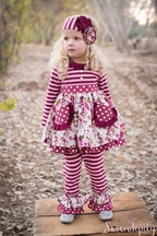 Serendipity Dress Set for Girls Sugar Plum