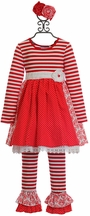 Serendipity Party Dress Set for Girls