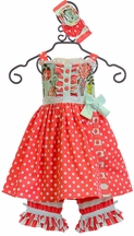 Serendipity Polka Dot Tunic with Shorties (12Mos & 2T)
