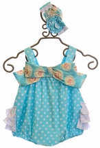 Serendipity Romper Spring Has Sprung (6Mos,9Mos,12Mos)