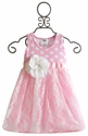 She Bloom Pink Lace Little Girls Party Dress