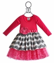 She Bloom Pink Party Dress for Infant and Toddler