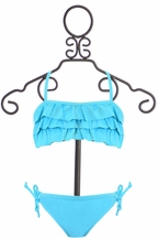 SnapperRock Bathing Suit in Aqua Blue